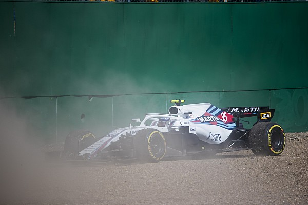 Williams pair to start Silverstone race from pitlane