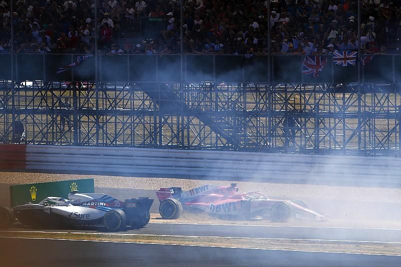 Pérez hereda el último punto del GP de Gran Bretaña