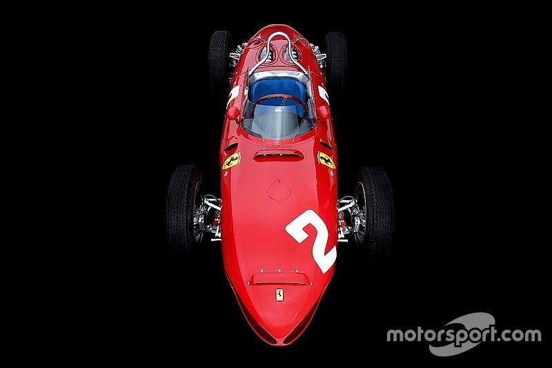 Ferrari'nin ikonik F1 araçları: 156 'köpekbalığı'