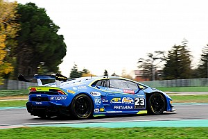 Lamborghini Super Trofeo Intervista Postiglione in pole: