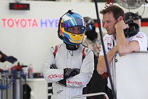 WEC Breaking news Alonso gets first mileage in 2018 Toyota LMP1
