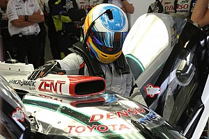 WEC News Fernando Alonso absolviert Toyota-Test in Aragon