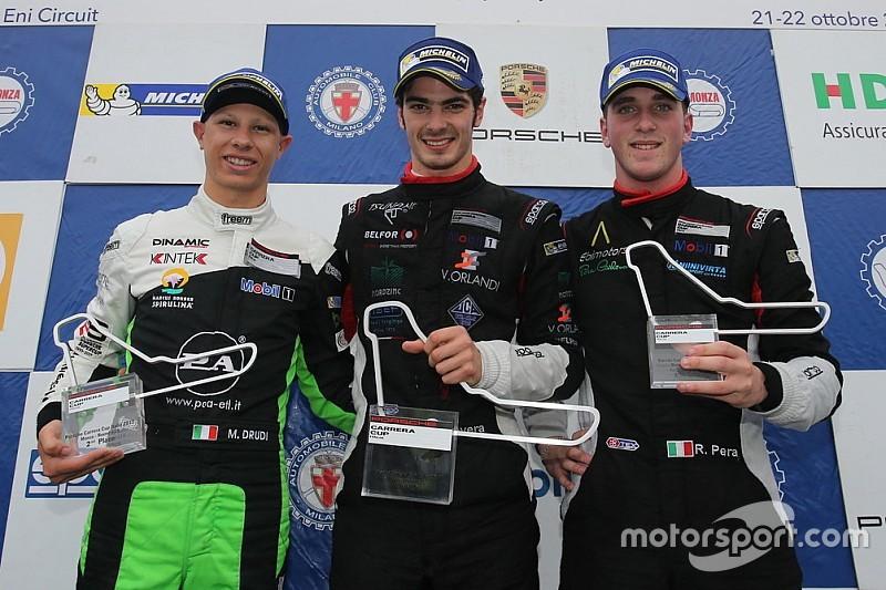 Carrera Cup Italia, Rovera super a Monza: