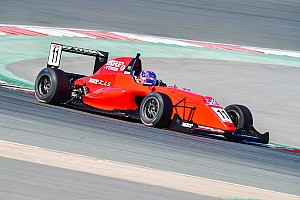 Indian Open Wheel Race report Dubai MRF: Drugovich eases to Race 1 win