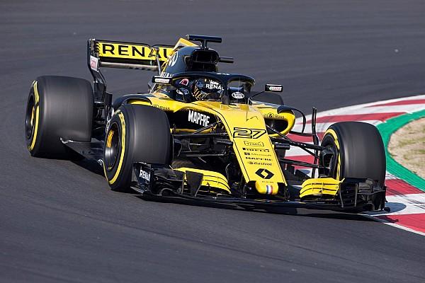 Formula 1 Ultime notizie Renault: la R.S.18 gira a Barcellona per il filming day