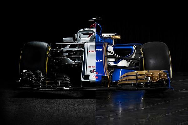 Формула 1 Самое интересное С Alfa Romeo и без. Сравнение новой и старой машин Sauber