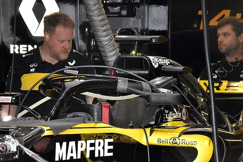 Nach Flügel-Verbot: Renault zeigt neue Halo-Spiegel