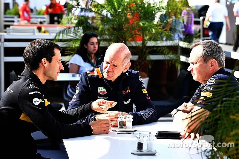 Renault ontkent interesse in Adrian Newey