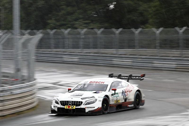 DTM Norisring 2018: Di Resta vorn, Glock crasht in Spengler
