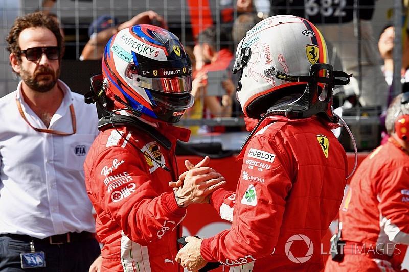 """Mercedes: Inversão Kimi-Vettel na Áustria teria sido """"brutal"""""""