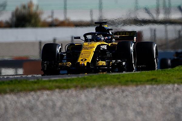 Formula 1 Fotogallery: la Renault R.S.18 nei Test 2 di F.1 a Barcellona