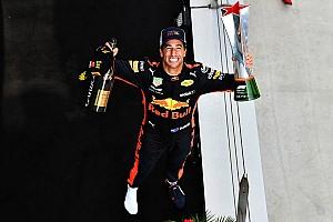 F1 速報ニュース リカルドのレッドブル残留は?「もっと優勝できれば魅力的」と語る