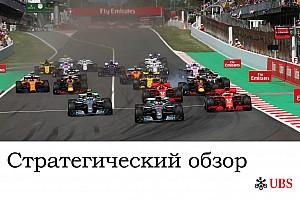 Формула 1 Аналитика Стратегический анализ Джеймса Аллена: Гран При Испании
