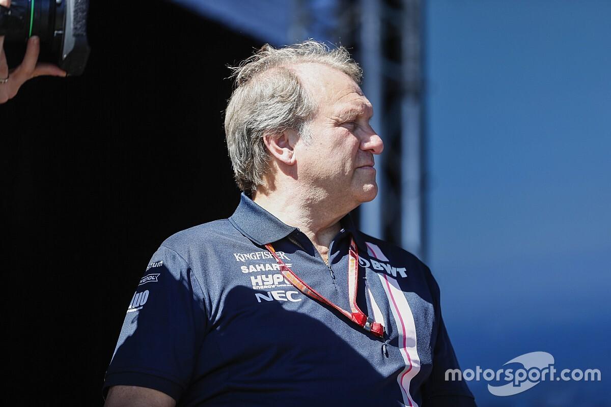 Fernley ya no es parte de Force India