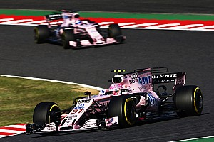 Formula 1 Breaking news Ocon's racecraft still needs improving - Force India