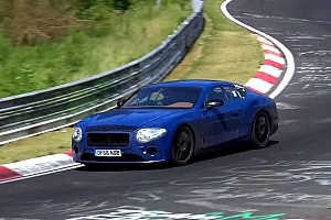 Automotive Breaking news Next Bentley Continental GT got spied looking agile in the corners