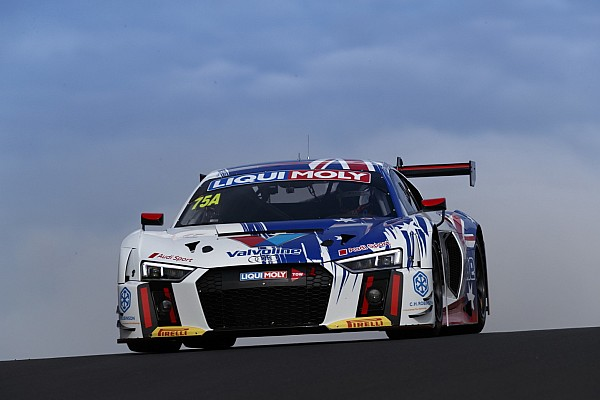 Tander, van der Linde locked in for Audi Bathurst charge