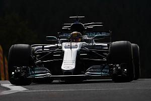 F1 Reporte de prácticas Hamilton responde en Bélgica ante la llegada de la lluvia