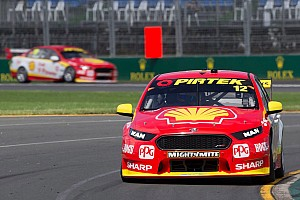 Supercars Qualifying report Albert Park Supercars: Coulthard takes three poles, one for Whincup