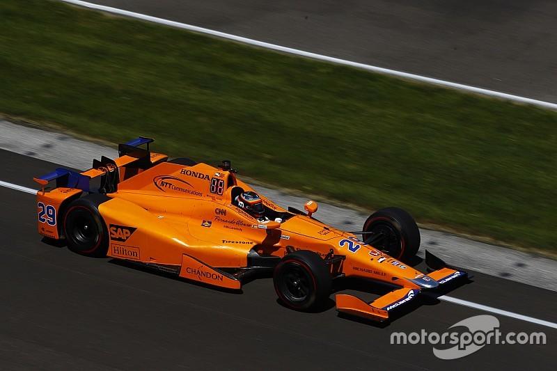 McLaren confirms Alonso IndyCar test