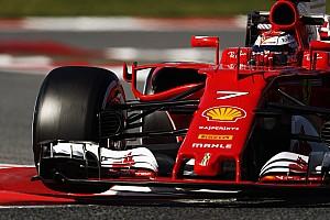 Formula 1 Testing report Barcelona F1 test: Raikkonen first to break into the 1m18s