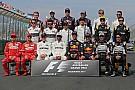 Formel 1 Das sind die Fahrer und Teams der Formel-1-Saison 2018