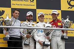 DTM Репортаж з гонки DTM у Хоккенхаймі: Ауер виборов першу перемогу
