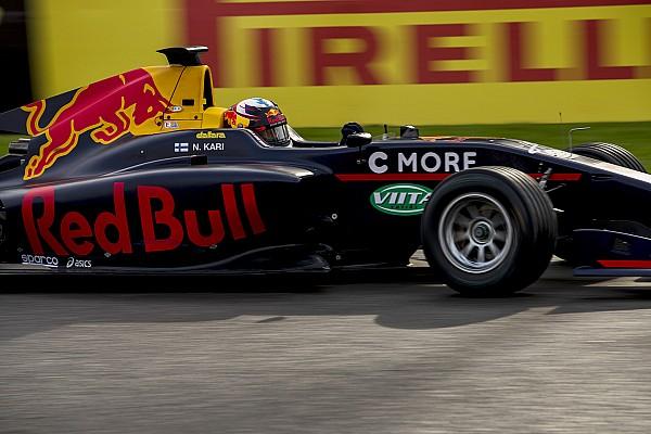 GP3 Últimas notícias Kari é dispensado do programa de jovens pilotos da Red Bull