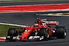 Raikkonen lidera con susto final para Vettel
