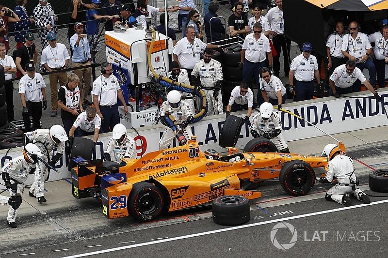 """McLaren espera competir a tiempo completo en IndyCar """"en unos años"""""""