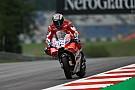 Dovizioso terminó el viernes adelante en Austria