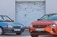 30 éve látta meg a napvilágot az Opel Corsa-E előfutára