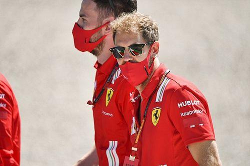 Vettel, Red Bull gewaarschuwd na gesprek zonder mondkapje