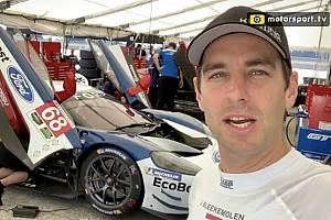 Bleekemolen onder de indruk van Ford GT tijdens test voor 24 uur van Le Mans