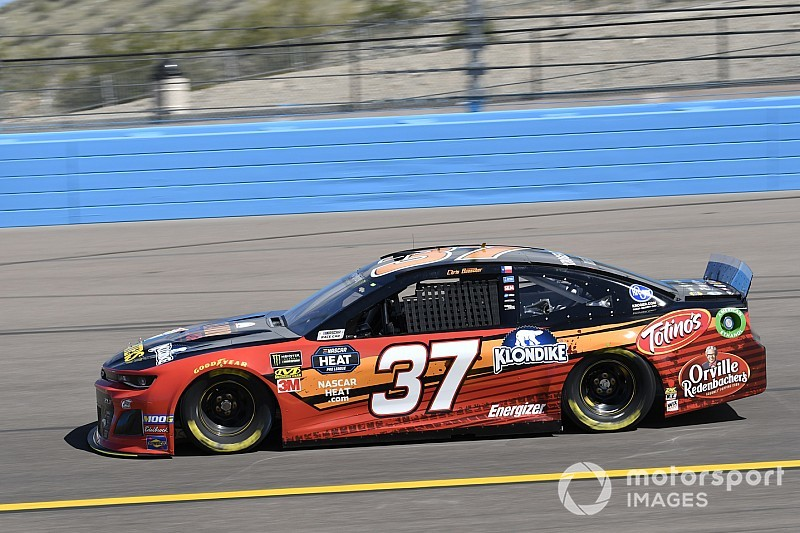 Chris Buescher paces Saturday's first Cup practice at Phoenix