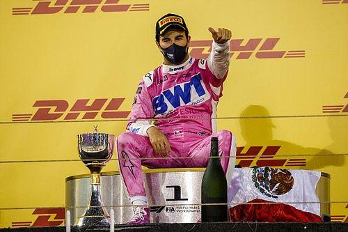 GALERÍA: Los 14 podios de Sergio Pérez en la Fórmula 1