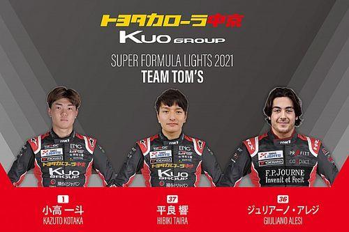 Alesi Masuk Skuad TOM'S untuk Formula Super Lights 2021