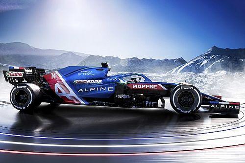 Pályára gurult a 2021-es Alpine – egyelőre Alonso nélkül! (videó)