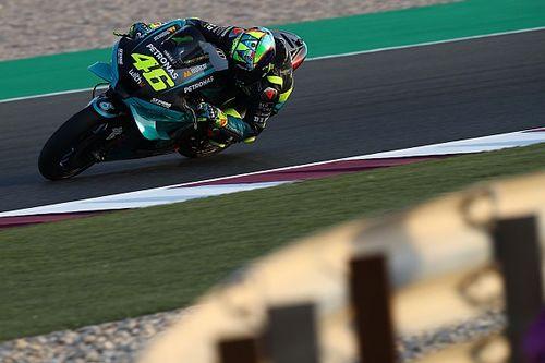 """Premiers tours """"étranges"""" pour Valentino Rossi avec Petronas"""
