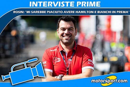 """Rosin: """"Avrei voluto Hamilton e Bianchi in Prema"""""""