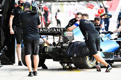Alpine explica por qué mando a Alonso al fondo de la parrilla