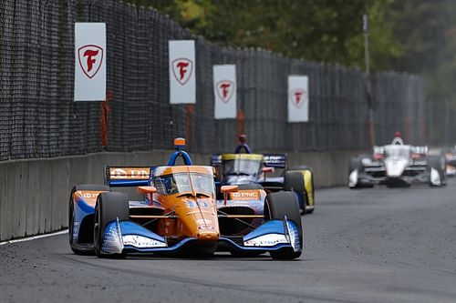 """Palou: IndyCar Race Control was """"not right"""" re-ordering the pack"""