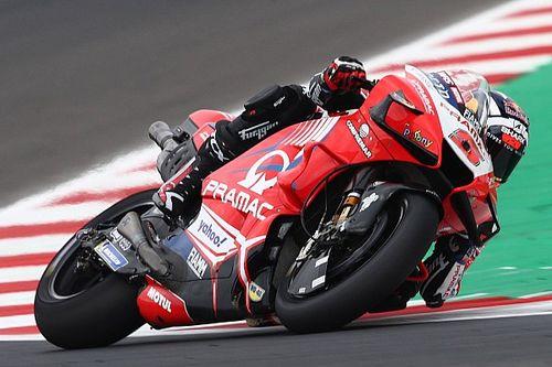 Misano MotoGP: Zarco leads wet second practice as Quartararo struggles