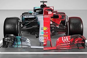 Tech analyse: Mercedes en Ferrari F1-bolides vergeleken