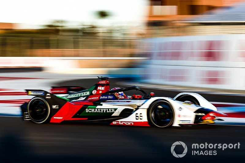 Muller lidera las pruebas de la Fórmula E en Marruecos para Audi