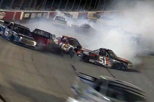 Creed succeeds through major carnage at Darlington
