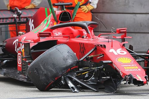 Why Leclerc crash conspiracy theories make no sense