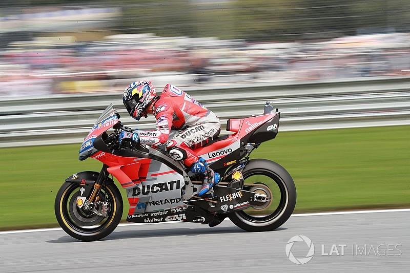 Dovizioso enttäuscht: Reifenwahl & Lorenzo bremsen ihn ein