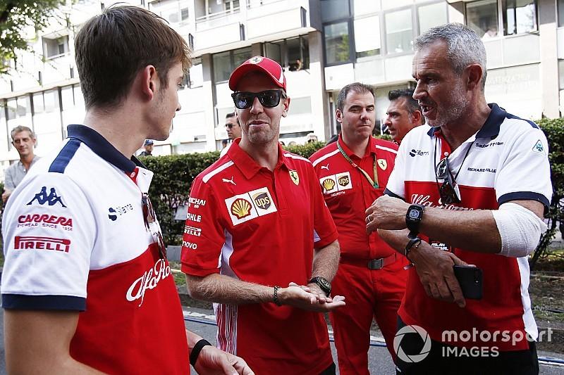 Vettel: Leclerc e eu temos que trabalhar juntos em 2019