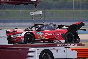 Mercedes-győzelem és horror baleset a Lausitzringen